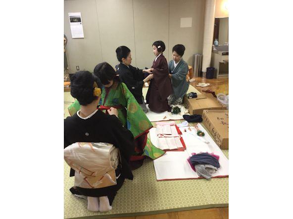 神田きもの教室記念公演にて