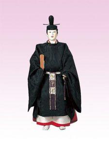 公卿 縫腋袍束帯姿(冬装束)
