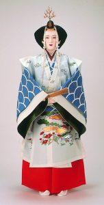 江戸時代「采女装束姿」
