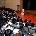教育大学で講演