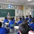 中学家庭科きもの授業を実施