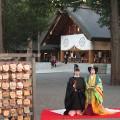 北海道神宮で十二単・束帯挙式