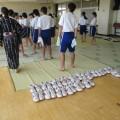 中学校浴衣授業