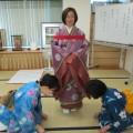 宮島流衣紋研修会を実施いたしました。