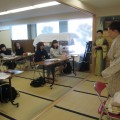 教育大 和装文化教室スタート