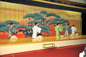 親睦会で「きつけ舞」を披露。舞手2人デビューステージです。「心衣繋-koitsunagi」